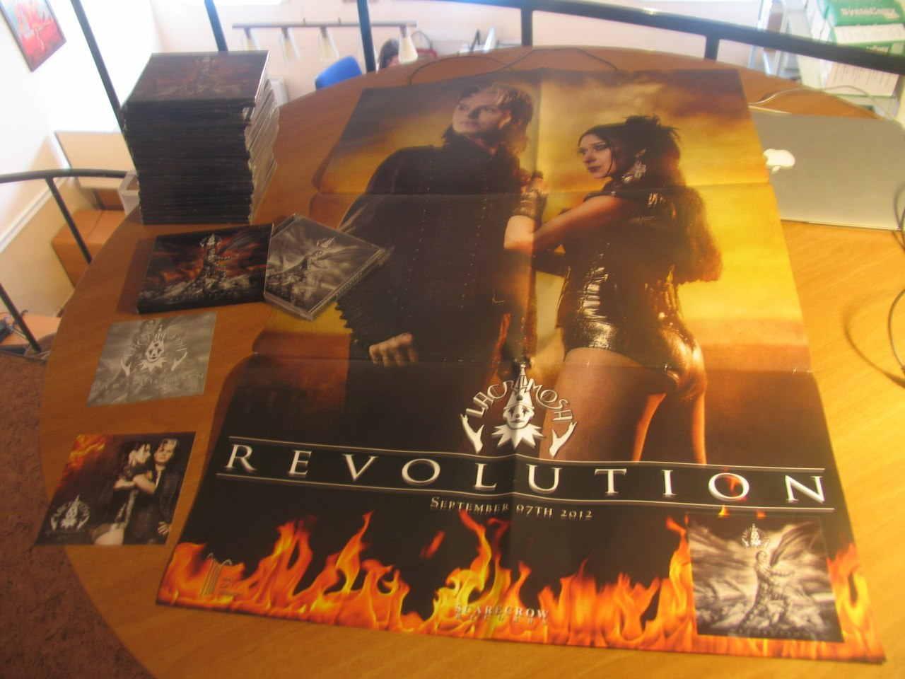 Первый заказ в Мексике. Цветное коллекционное издание Revolution от ScareCrow, полный комплект. Тираж 1000 штук